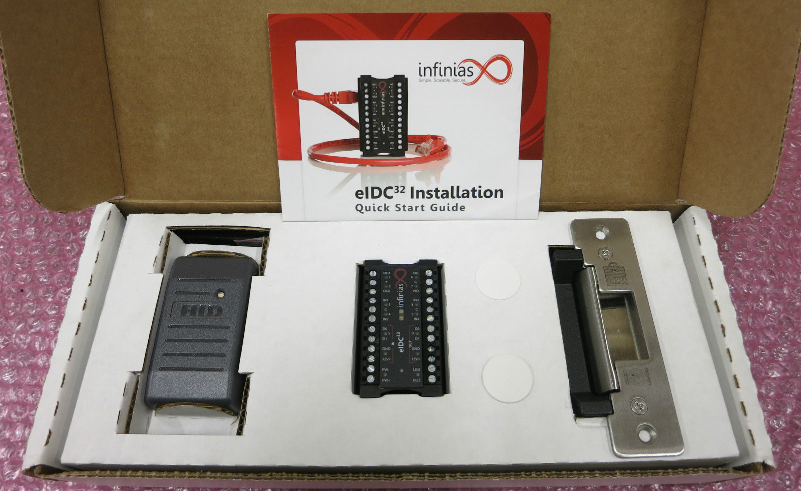 Infinias Eidc32 Manual Access Control Wiring Diagram Upgrade One Door At A Time Locksmith Ledger